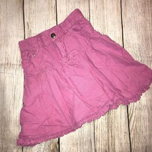 EUC Children's Place Corduroy Skirt